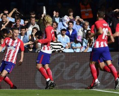 Celta 0-1 Atletico Madrid