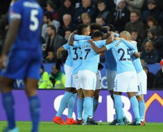Leicester City 0 - 2 Manchester City