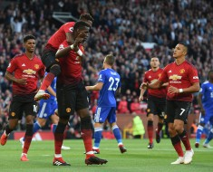Manchester United 2-1 Leicester City