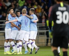 Shakhtar 0-3 Manchester City