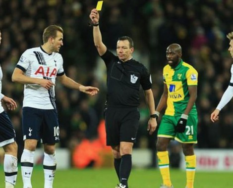Leicester-based referee taken off Tottenham game