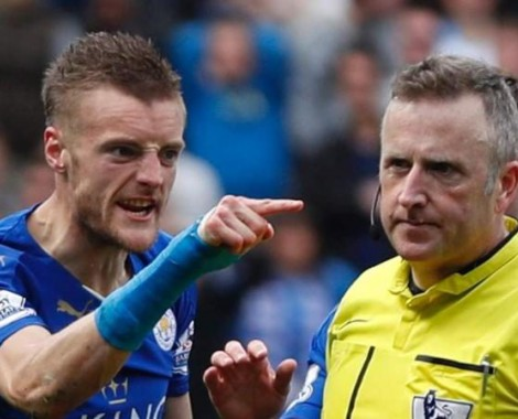 Jamie Vardy likely to be hit with two-match ban after FA charge for improper conduct