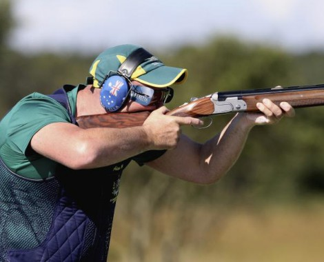 Olympic gold medallist Michael Diamond was arrested on gun charges