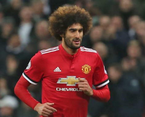 Marouane Fellaini decides to quit Man Utd