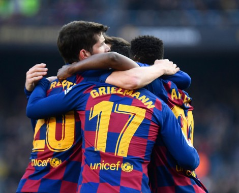 Barcelona 2-1 Getafe (VİDEO)