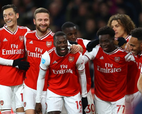 Arsenal 4-0 Newcastle United (VİDEO)