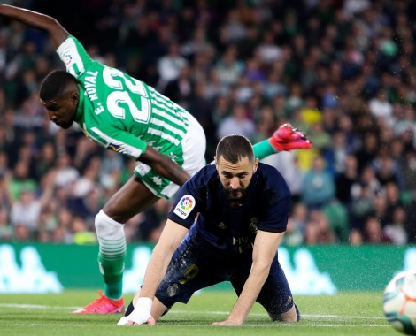 Real Betis 2-1 Real Madrid (VİDEO)