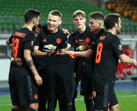LASK 0-5 Manchester United (VİDEO)