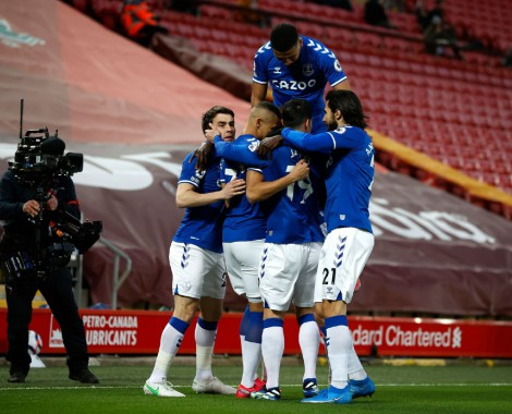 Liverpool 0-2 Everton (VİDEO)