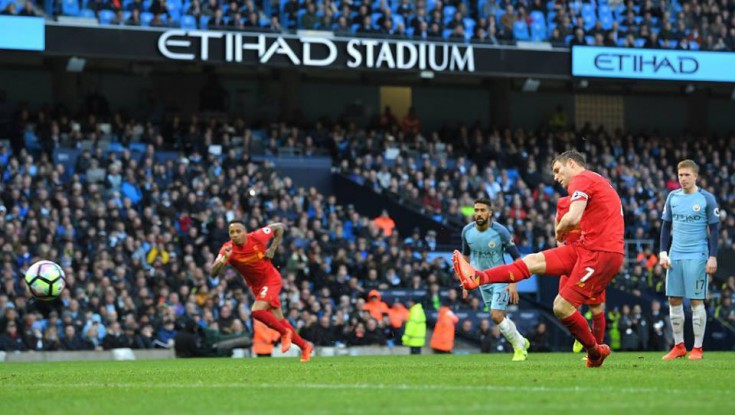 Manchester City 1 - 1 Liverpool