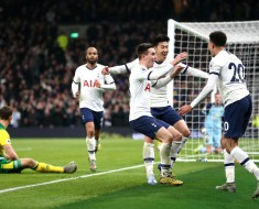 Tottenham 2-1 Norwich (VİDEO)