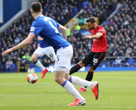 Everton 1-1 Manchester United (VİDEO)