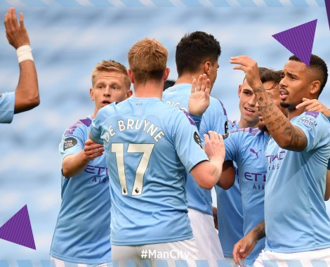 Manchester City 5-0 Newcastle United (VİDEO)