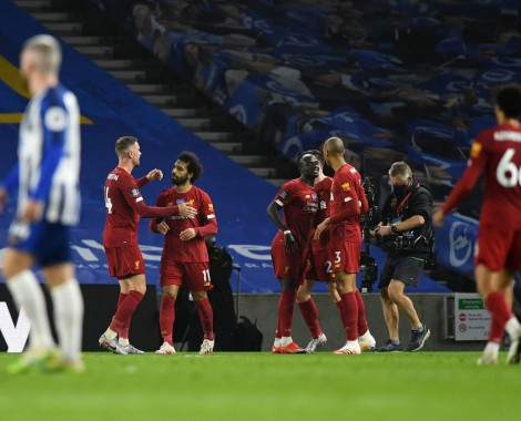 Brighton 1-3 Liverpool (VİDEO)