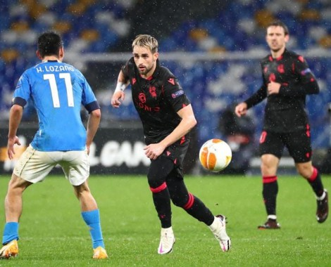 Napoli 1-1 Real Sociedad (VİDEO)