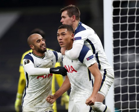 Tottenham 2-0 Antwerpen (VİDEO)