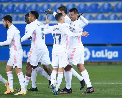 Alaves 1-4 Real Madrid (VİDEO)