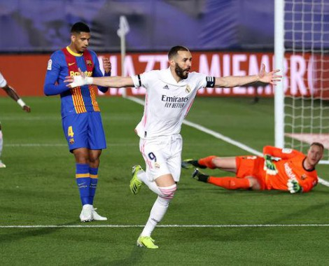 Real Madrid 2-1 Barcelona (VİDEO)
