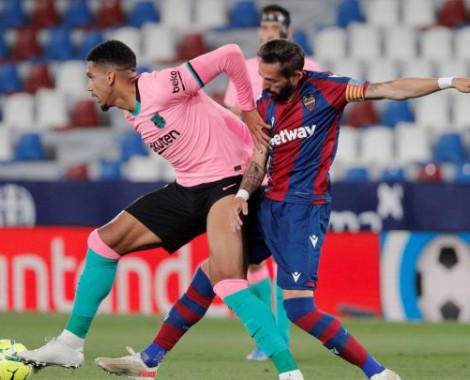 Levante 3-3 Barcelona (VİDEO)